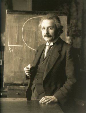 Stupidity in America: Albert Einstein, not so stupid