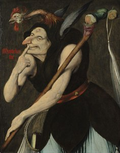 Stupidity in America: painting of a fool by Quentin Matsys